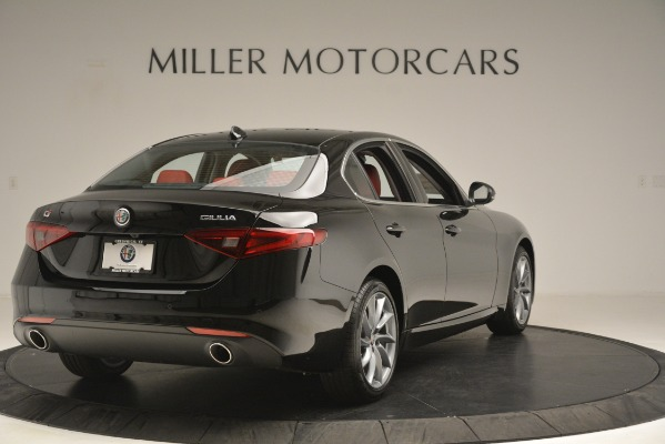 New 2019 Alfa Romeo Giulia Q4 for sale Sold at Bentley Greenwich in Greenwich CT 06830 7