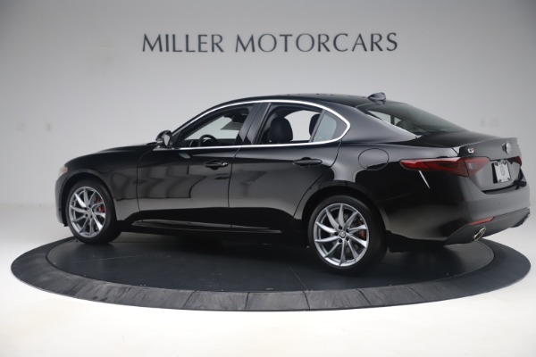 New 2019 Alfa Romeo Giulia Q4 for sale Sold at Bentley Greenwich in Greenwich CT 06830 4
