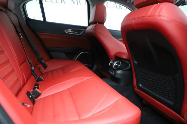 New 2019 Alfa Romeo Giulia Ti Sport Q4 for sale Sold at Bentley Greenwich in Greenwich CT 06830 27
