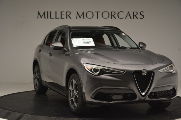 New 2019 Alfa Romeo Stelvio Sport Q4 for sale Sold at Bentley Greenwich in Greenwich CT 06830 11