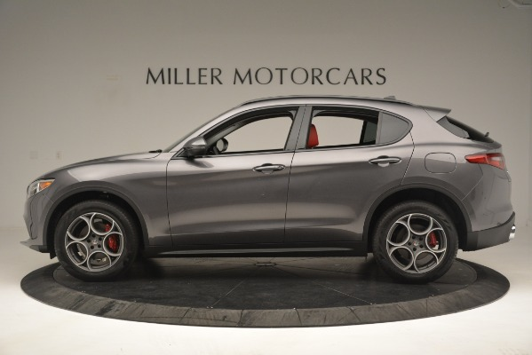 New 2019 Alfa Romeo Stelvio Sport Q4 for sale Sold at Bentley Greenwich in Greenwich CT 06830 3