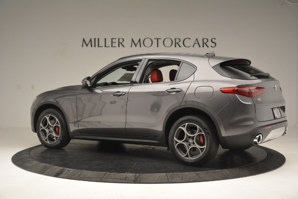 New 2019 Alfa Romeo Stelvio Sport Q4 for sale Sold at Bentley Greenwich in Greenwich CT 06830 4