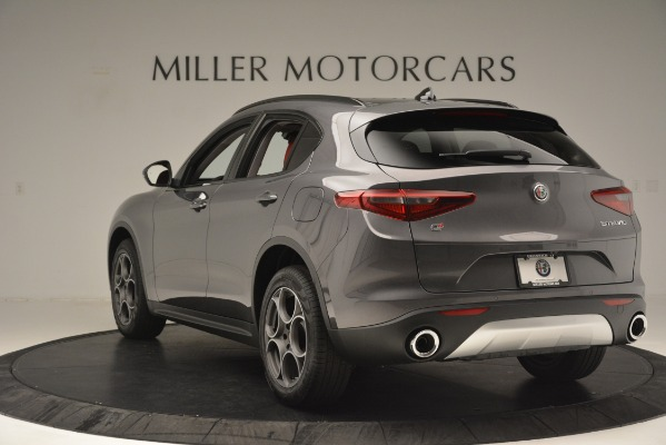 New 2019 Alfa Romeo Stelvio Sport Q4 for sale Sold at Bentley Greenwich in Greenwich CT 06830 5