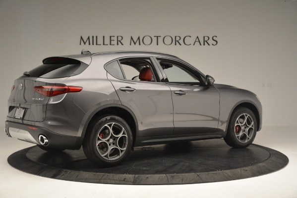 New 2019 Alfa Romeo Stelvio Sport Q4 for sale Sold at Bentley Greenwich in Greenwich CT 06830 8