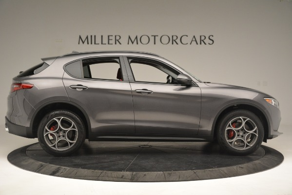 New 2019 Alfa Romeo Stelvio Sport Q4 for sale Sold at Bentley Greenwich in Greenwich CT 06830 9