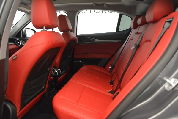 New 2019 Alfa Romeo Stelvio Sport Q4 for sale Sold at Bentley Greenwich in Greenwich CT 06830 19