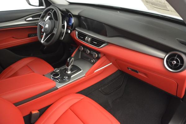 New 2019 Alfa Romeo Stelvio Sport Q4 for sale Sold at Bentley Greenwich in Greenwich CT 06830 22