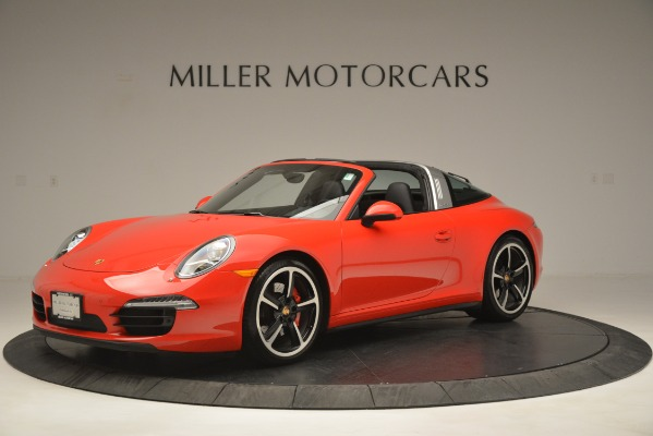 Used 2016 Porsche 911 Targa 4S for sale Sold at Bentley Greenwich in Greenwich CT 06830 2