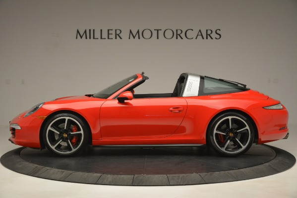 Used 2016 Porsche 911 Targa 4S for sale Sold at Bentley Greenwich in Greenwich CT 06830 3