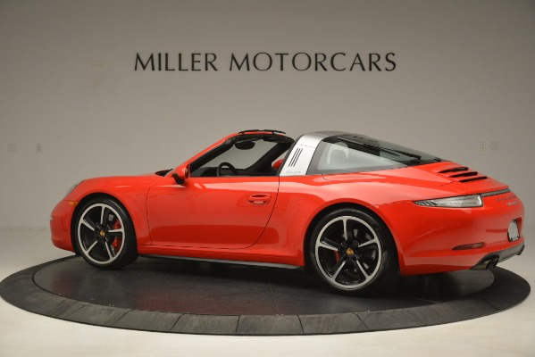 Used 2016 Porsche 911 Targa 4S for sale Sold at Bentley Greenwich in Greenwich CT 06830 4