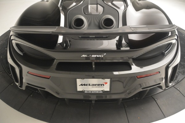 New 2019 McLaren 600LT Coupe for sale Sold at Bentley Greenwich in Greenwich CT 06830 26