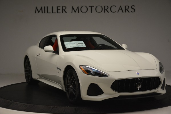 New 2018 Maserati GranTurismo Sport for sale Sold at Bentley Greenwich in Greenwich CT 06830 11