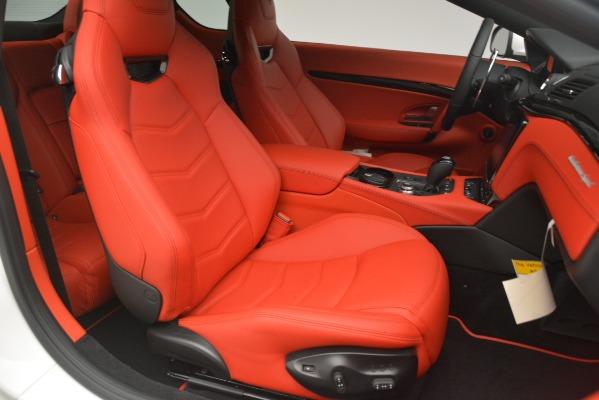 New 2018 Maserati GranTurismo Sport for sale Sold at Bentley Greenwich in Greenwich CT 06830 22
