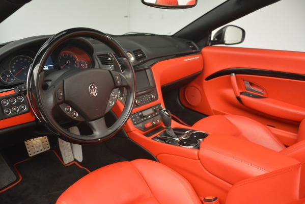 Used 2015 Maserati GranTurismo Sport for sale Sold at Bentley Greenwich in Greenwich CT 06830 25