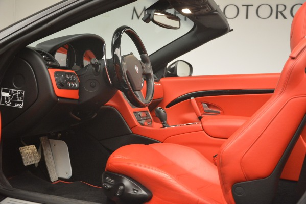 Used 2015 Maserati GranTurismo Sport for sale Sold at Bentley Greenwich in Greenwich CT 06830 26