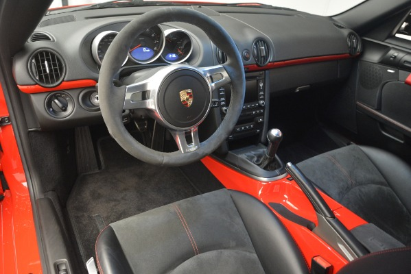 Used 2012 Porsche Cayman R for sale Sold at Bentley Greenwich in Greenwich CT 06830 17