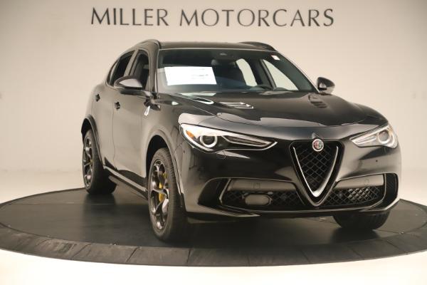 New 2019 Alfa Romeo Stelvio Quadrifoglio for sale $86,790 at Bentley Greenwich in Greenwich CT 06830 11