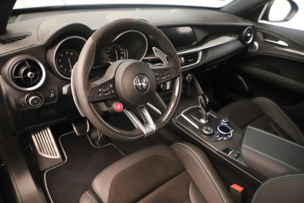 New 2019 Alfa Romeo Stelvio Quadrifoglio for sale $86,790 at Bentley Greenwich in Greenwich CT 06830 13