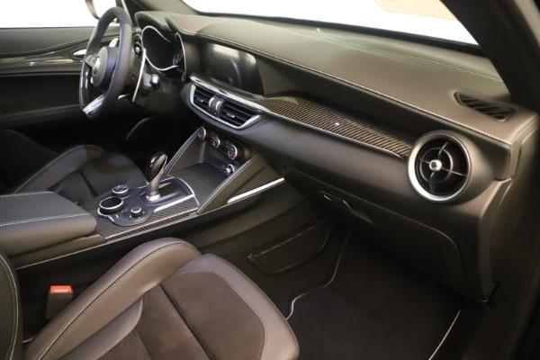 New 2019 Alfa Romeo Stelvio Quadrifoglio for sale $86,790 at Bentley Greenwich in Greenwich CT 06830 22