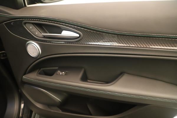 New 2019 Alfa Romeo Stelvio Quadrifoglio for sale $86,790 at Bentley Greenwich in Greenwich CT 06830 25
