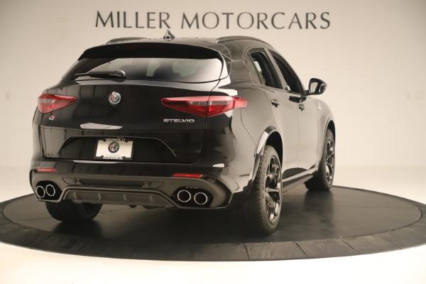 New 2019 Alfa Romeo Stelvio Quadrifoglio for sale $86,790 at Bentley Greenwich in Greenwich CT 06830 7