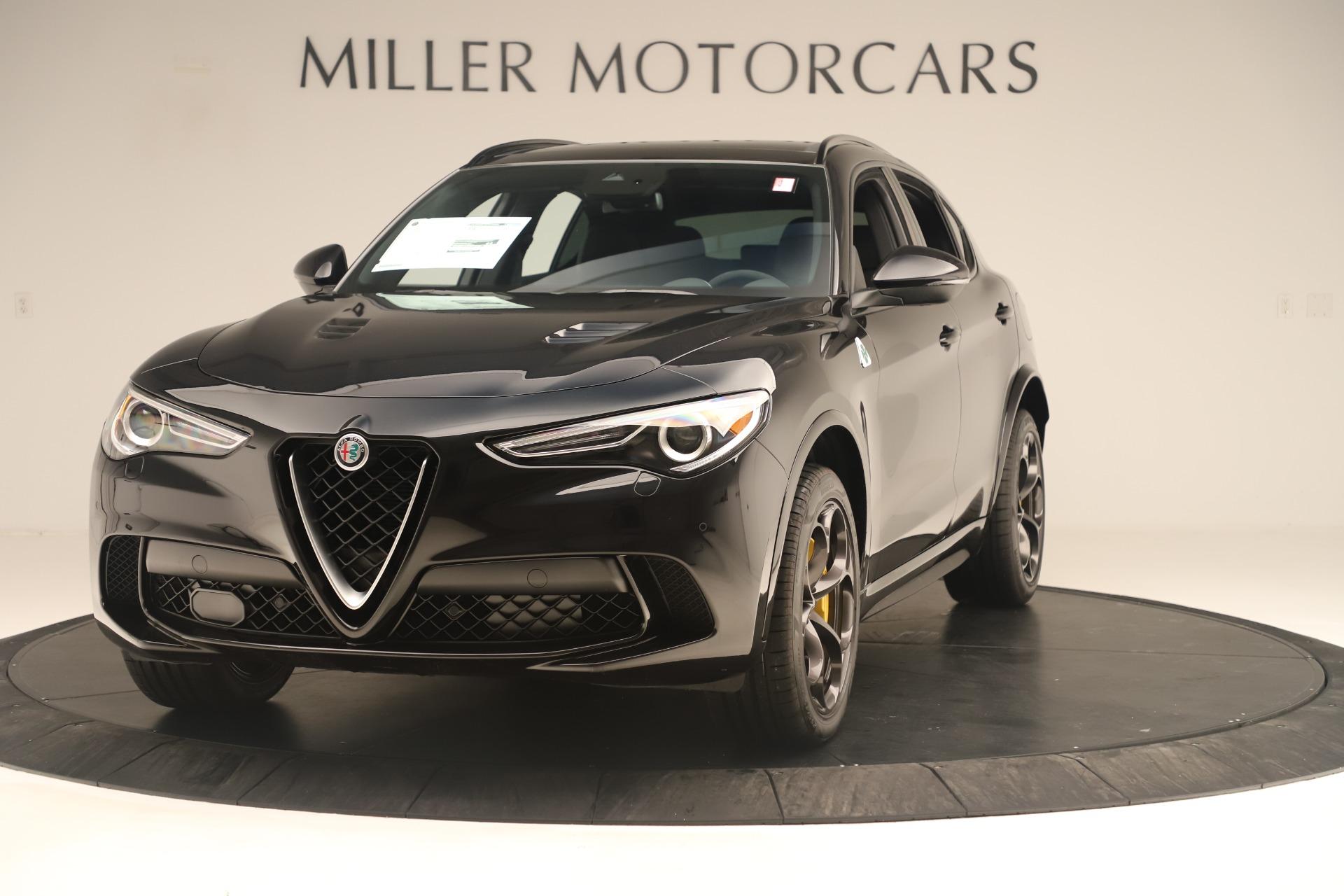 New 2019 Alfa Romeo Stelvio Quadrifoglio for sale $86,790 at Bentley Greenwich in Greenwich CT 06830 1
