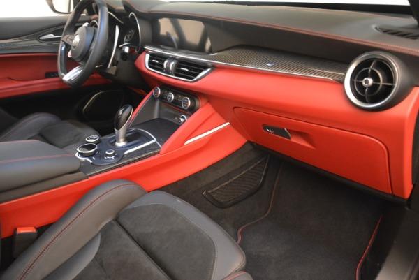 New 2019 Alfa Romeo Stelvio Quadrifoglio for sale Sold at Bentley Greenwich in Greenwich CT 06830 19