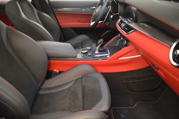 New 2019 Alfa Romeo Stelvio Quadrifoglio for sale Sold at Bentley Greenwich in Greenwich CT 06830 20