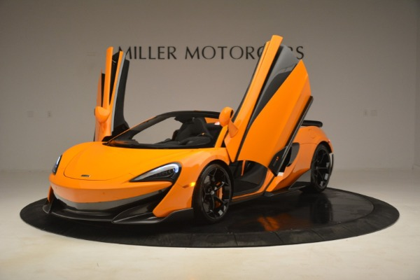 New 2020 McLaren 600LT Spider Convertible for sale Sold at Bentley Greenwich in Greenwich CT 06830 14