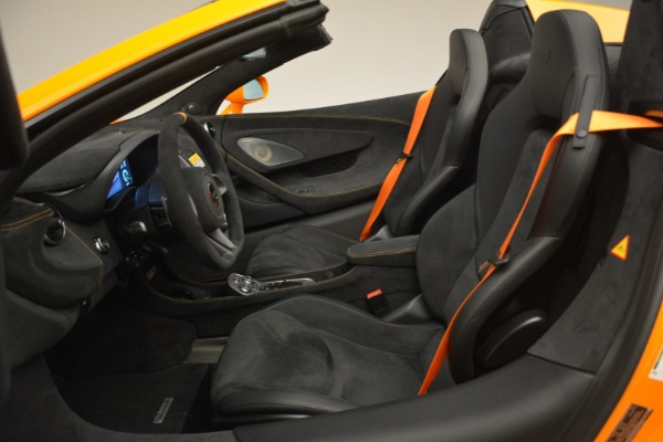 New 2020 McLaren 600LT Spider Convertible for sale Sold at Bentley Greenwich in Greenwich CT 06830 25