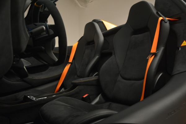 New 2020 McLaren 600LT Spider Convertible for sale Sold at Bentley Greenwich in Greenwich CT 06830 26