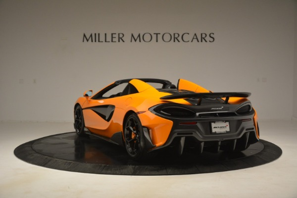 New 2020 McLaren 600LT Spider Convertible for sale Sold at Bentley Greenwich in Greenwich CT 06830 5