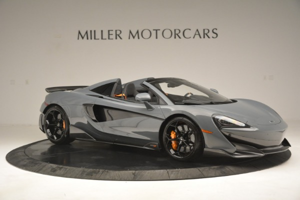 New 2020 McLaren 600LT Spider Convertible for sale Sold at Bentley Greenwich in Greenwich CT 06830 10