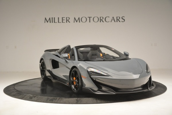 New 2020 McLaren 600LT Spider Convertible for sale Sold at Bentley Greenwich in Greenwich CT 06830 11