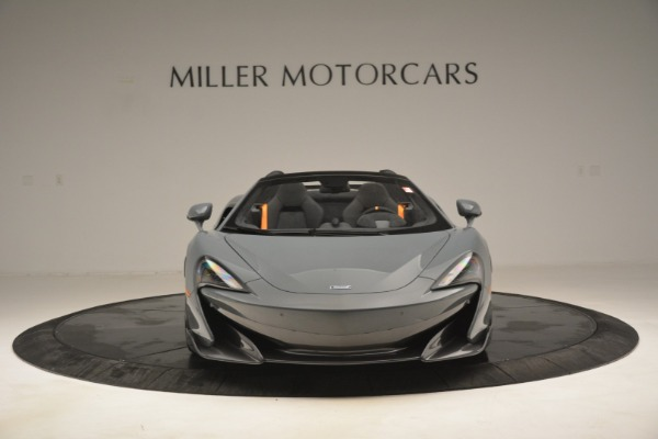 New 2020 McLaren 600LT Spider Convertible for sale Sold at Bentley Greenwich in Greenwich CT 06830 12
