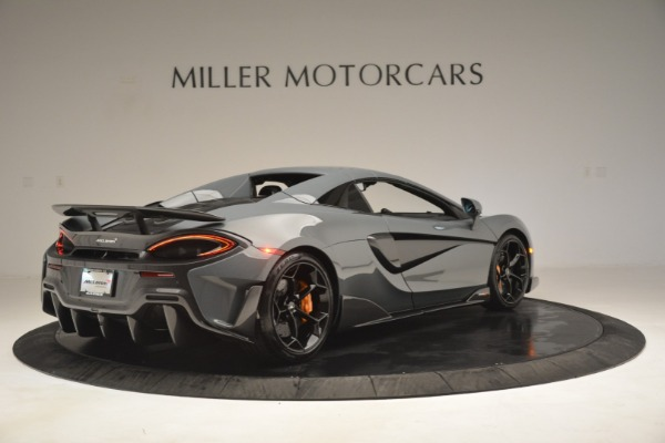 New 2020 McLaren 600LT Spider Convertible for sale Sold at Bentley Greenwich in Greenwich CT 06830 19