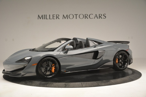New 2020 McLaren 600LT Spider Convertible for sale Sold at Bentley Greenwich in Greenwich CT 06830 2