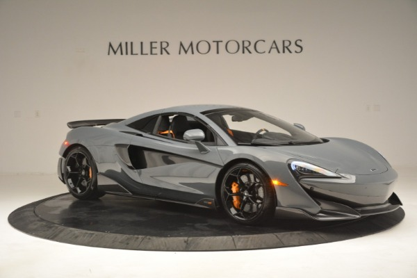 New 2020 McLaren 600LT Spider Convertible for sale Sold at Bentley Greenwich in Greenwich CT 06830 21