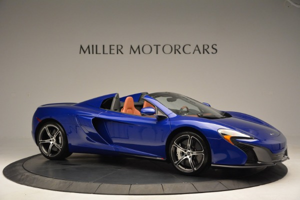Used 2015 McLaren 650S Spider Convertible for sale Sold at Bentley Greenwich in Greenwich CT 06830 10