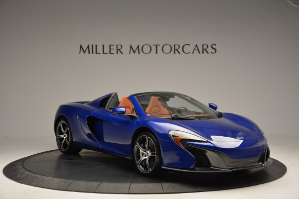 Used 2015 McLaren 650S Spider Convertible for sale Sold at Bentley Greenwich in Greenwich CT 06830 11