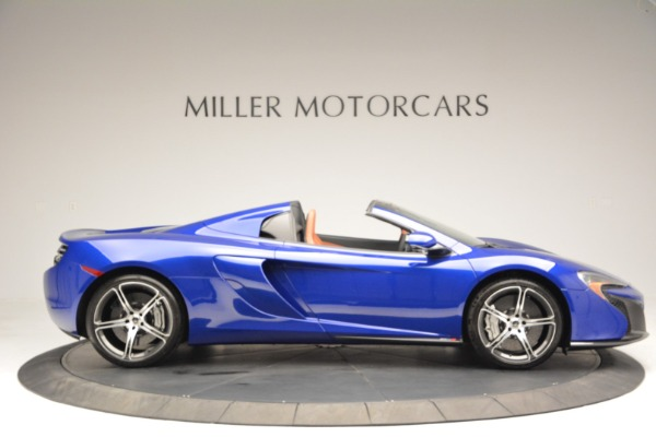 Used 2015 McLaren 650S Spider Convertible for sale Sold at Bentley Greenwich in Greenwich CT 06830 9
