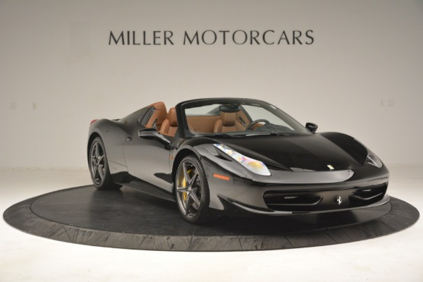 Used 2013 Ferrari 458 Spider for sale Sold at Bentley Greenwich in Greenwich CT 06830 11
