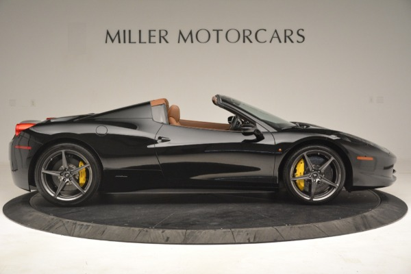 Used 2013 Ferrari 458 Spider for sale Sold at Bentley Greenwich in Greenwich CT 06830 9