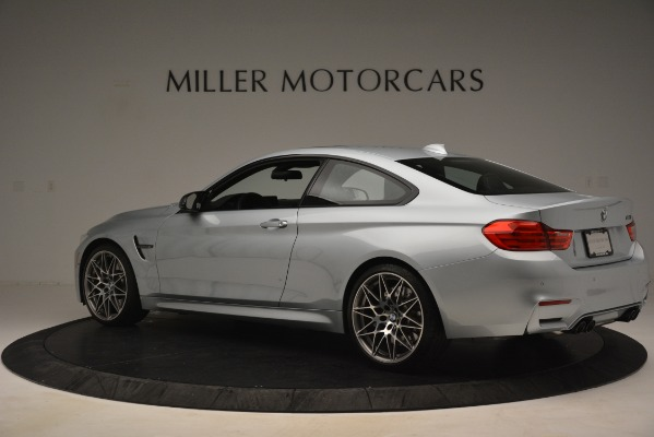 Used 2017 BMW M4 Competition PKG for sale Sold at Bentley Greenwich in Greenwich CT 06830 4