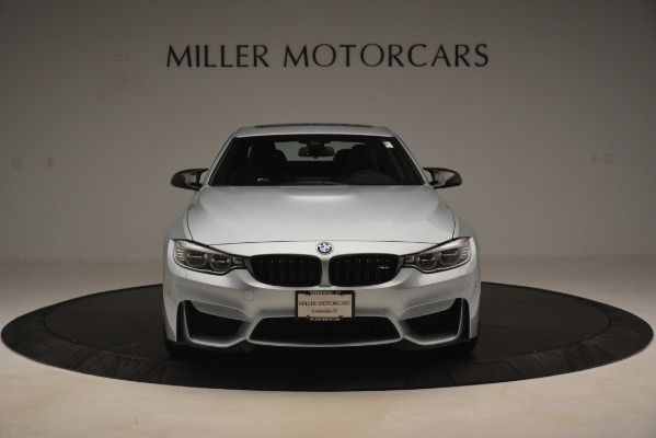Used 2017 BMW M4 Competition PKG for sale Sold at Bentley Greenwich in Greenwich CT 06830 7