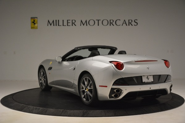 Used 2012 Ferrari California for sale Sold at Bentley Greenwich in Greenwich CT 06830 5