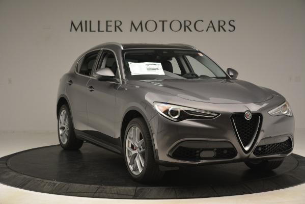 New 2019 Alfa Romeo Stelvio Ti Lusso Q4 for sale Sold at Bentley Greenwich in Greenwich CT 06830 11
