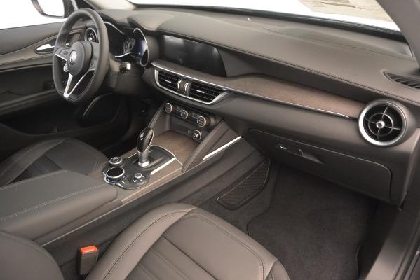 New 2019 Alfa Romeo Stelvio Ti Lusso Q4 for sale Sold at Bentley Greenwich in Greenwich CT 06830 22
