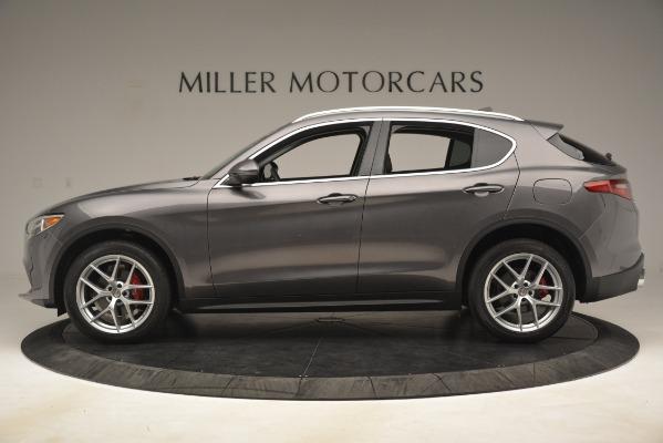 New 2019 Alfa Romeo Stelvio Ti Lusso Q4 for sale Sold at Bentley Greenwich in Greenwich CT 06830 3
