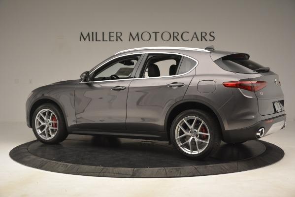 New 2019 Alfa Romeo Stelvio Ti Lusso Q4 for sale Sold at Bentley Greenwich in Greenwich CT 06830 4